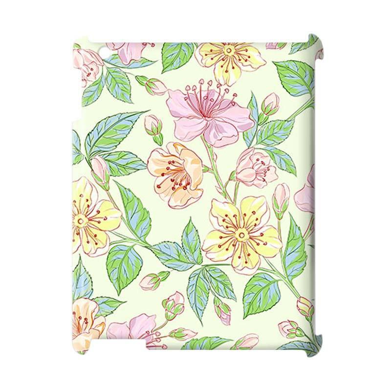 Premiumcaseid Beautiful Flower Hardcase Casing for iPad 2/3/4