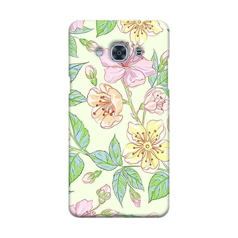 Premiumcaseid Beautiful Flower Wallpaper Cover Hardcase Casing for Samsung Galaxy J3 Pro