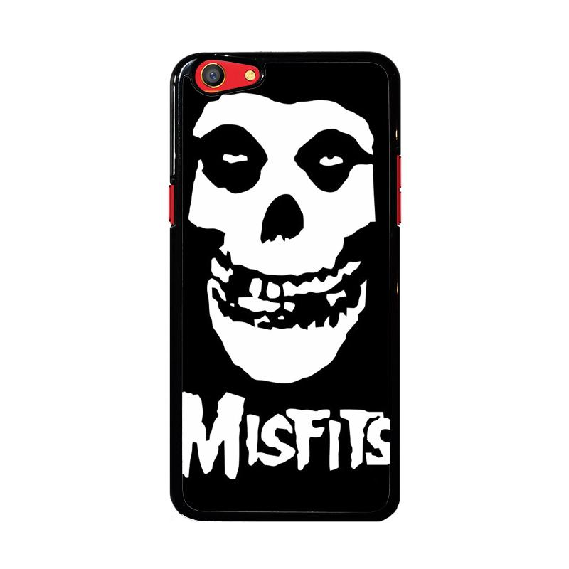 Flazzstore Horror Punk Rock Band Misfits Skull Z0506 Custom Casing for Oppo F3