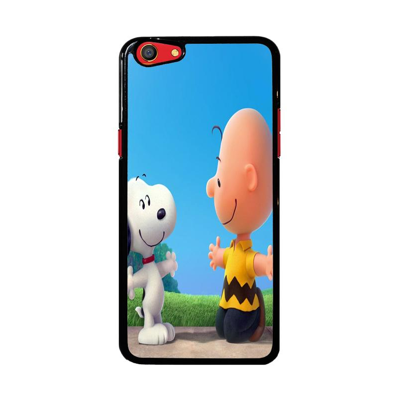 Flazzstore Peanuts Movie Z0850 Custom Casing for OPPO F3