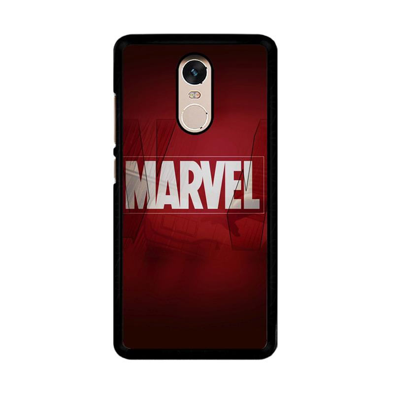 Flazzstore Marvel O0088 Custom Casing for Xiaomi Redmi Note 4 or Note 4X Snapdragon Mediatek