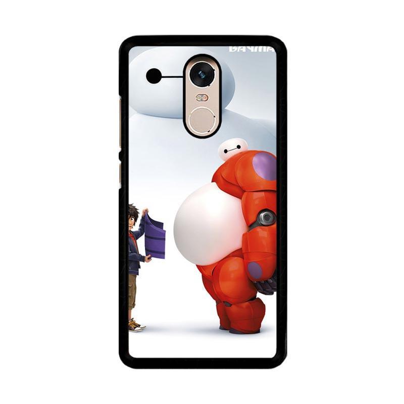 Flazzstore Baymax O0187 Custom Casing for Xiaomi Redmi Note 4 or Note 4X Snapdragon Mediatek