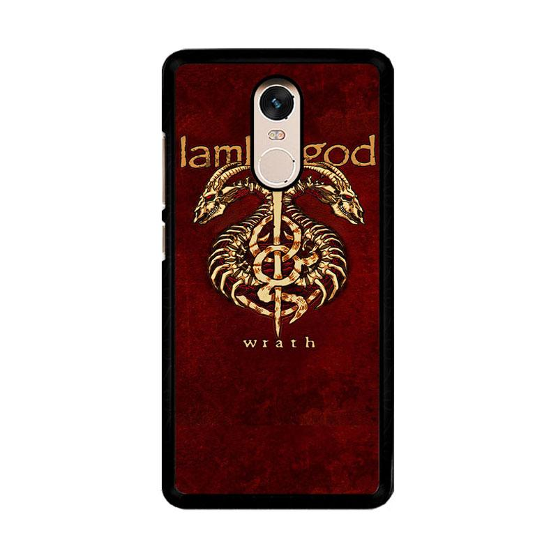 Flazzstore Lamb Of God Metal Band F0192 Custom Casing for Xiaomi Redmi Note 4 or Note 4X Snapdragon Mediatek