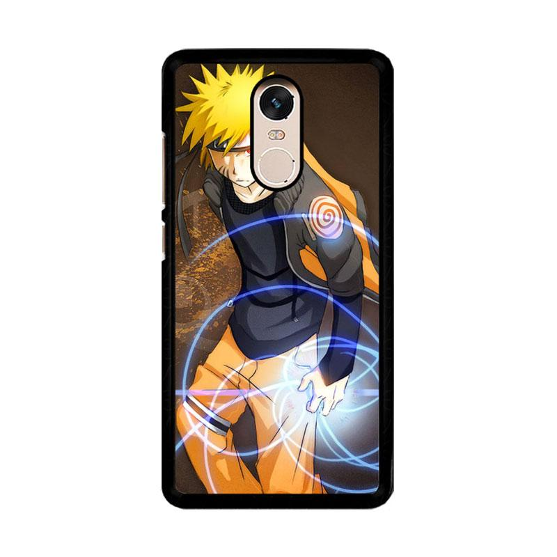 Flazzstore Naruto Shippuden Anime Manga F0206 Custom Casing for Xiaomi Redmi Note 4 or Note 4X Snapdragon Mediatek
