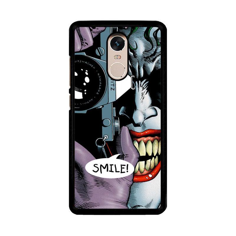 Flazzstore Joker Batman The Killing Joke F0835 Custom Casing for Xiaomi Redmi Note 4 or Note 4X Snapdragon Mediatek