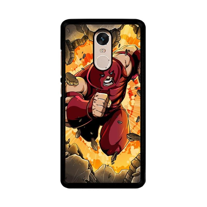 Flazzstore Comics Juggernaut Marvel Z0316 Custom Casing for Xiaomi Redmi Note 4 or Note 4X Snapdragon Mediatek