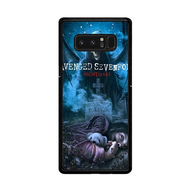 Flazzstore Avenged Sevenfold Rip Z0124 Custom Casing for Samsung Galaxy Note8
