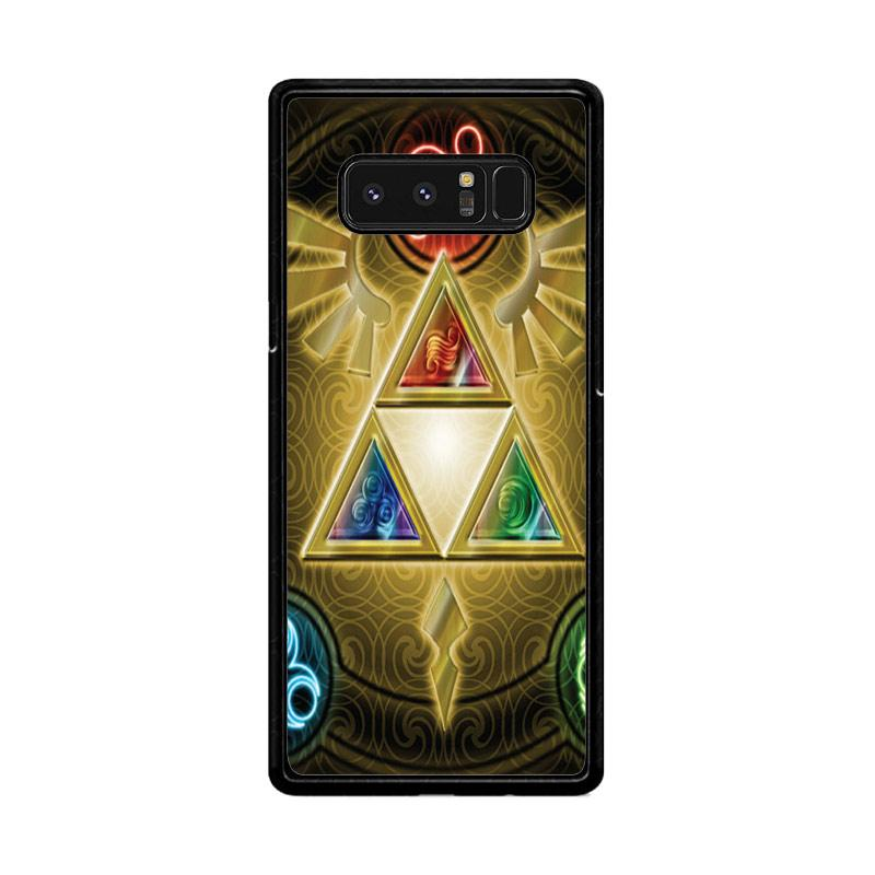 Flazzstore Zelda Triforce Element Z0152 Custom Casing for Samsung Galaxy Note8