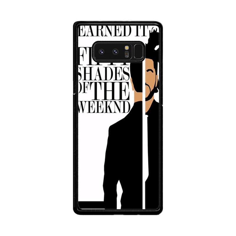 Flazzstore Weeknd Earned It Z0450 Custom Casing for Samsung Galaxy Note8