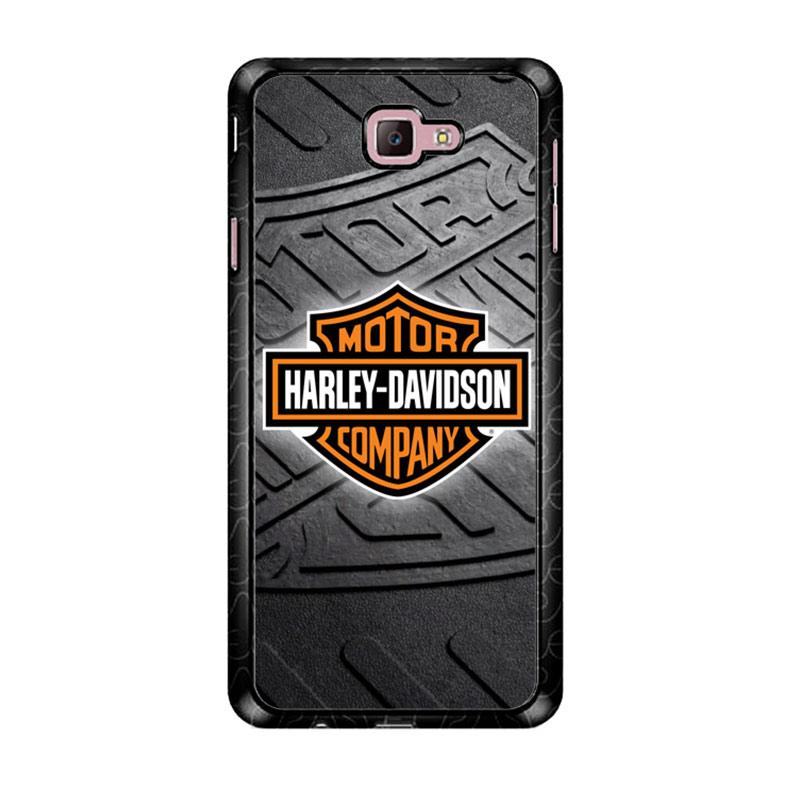 Flazzstore Harley Davidson Logo Z3250 Custom Casing for Samsung Galaxy J7 Prime