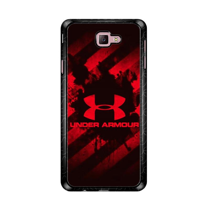 Flazzstore Under Armour Red Z4027 Custom Casing for Samsung Galaxy J7 Prime