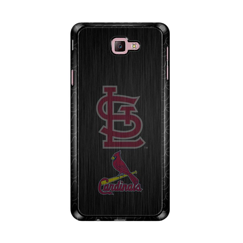 Flazzstore St. Louis Cardinals Logo Wood Z4064 Custom Casing for Samsung Galaxy J7 Prime