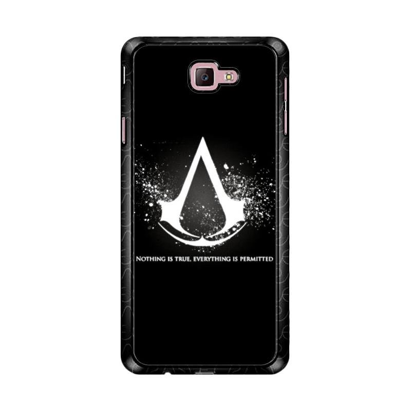 Flazzstore Assassins Creed Symbol Glow Z4434 Custom Casing for Samsung Galaxy J7 Prime