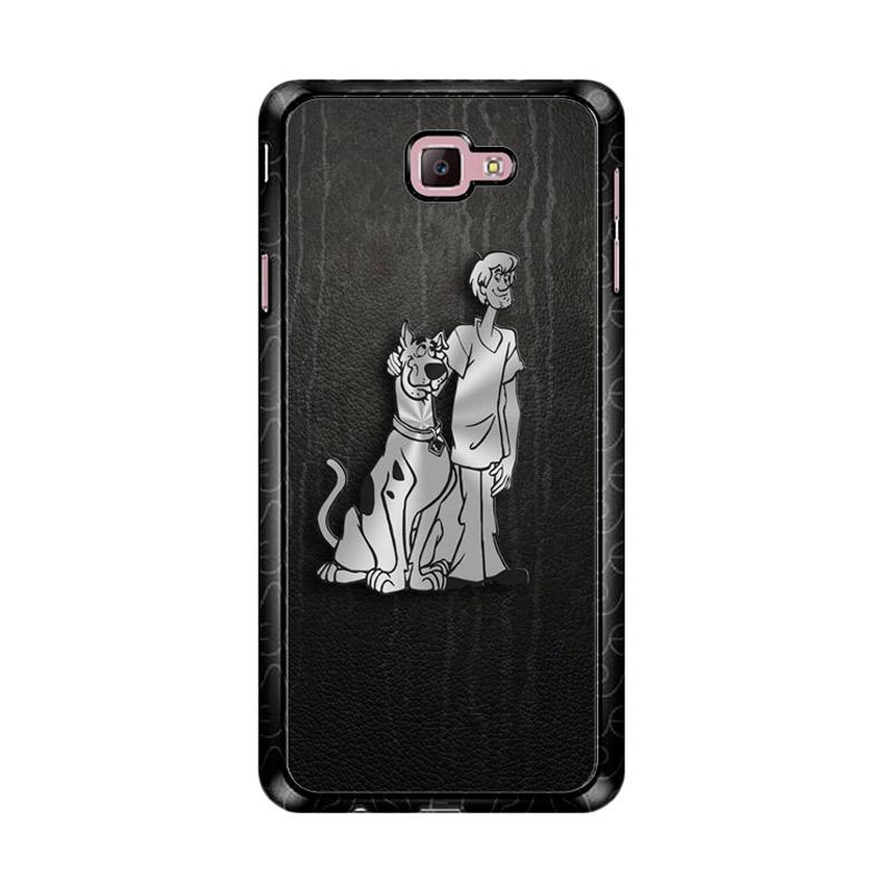 Flazzstore Scooby Doo 3D Silver Z4491 Custom Casing for Samsung Galaxy J7 Prime