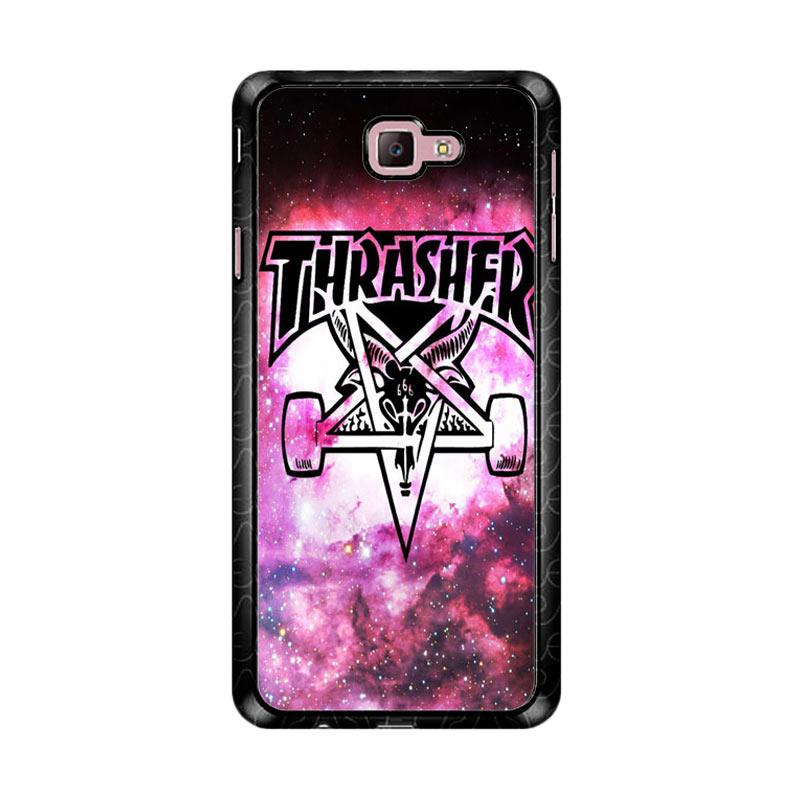 Flazzstore Thrasher Logo Galaxy Z4743 Custom Casing for Samsung Galaxy J7 Prime