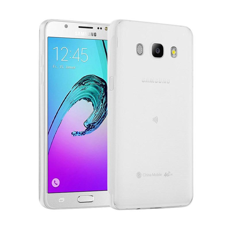 Lize Design Slim Anti Glare Silikon Casing for Samsung Galaxy J5 2016 J510 - Putih