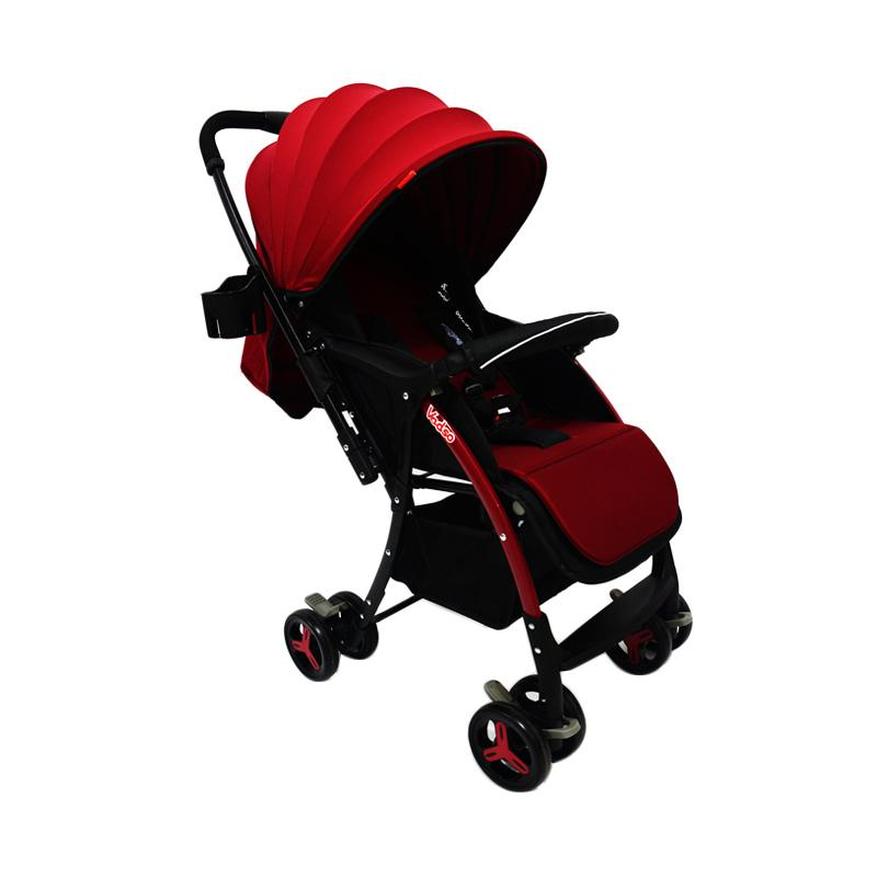 Chris & Olins Vadso Stroller Bayi - Red
