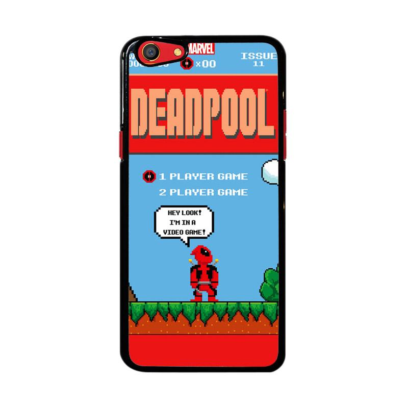 Flazzstore Super Mario Deadpool Video Game Z4368 Custom Casing for Oppo F3