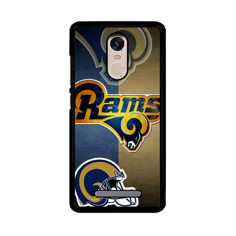 Flazzstore St. Louis Rams Z3027 Custom Casing for Xiaomi Redmi Note 3 or Note 3 Pro