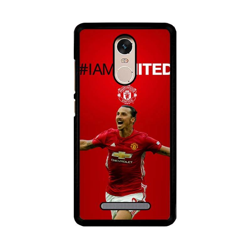 Flazzstore Ibrahimovic Manchester United Z39670 Custom Casing for Xiaomi Redmi Note 3 or Note 3 Pro
