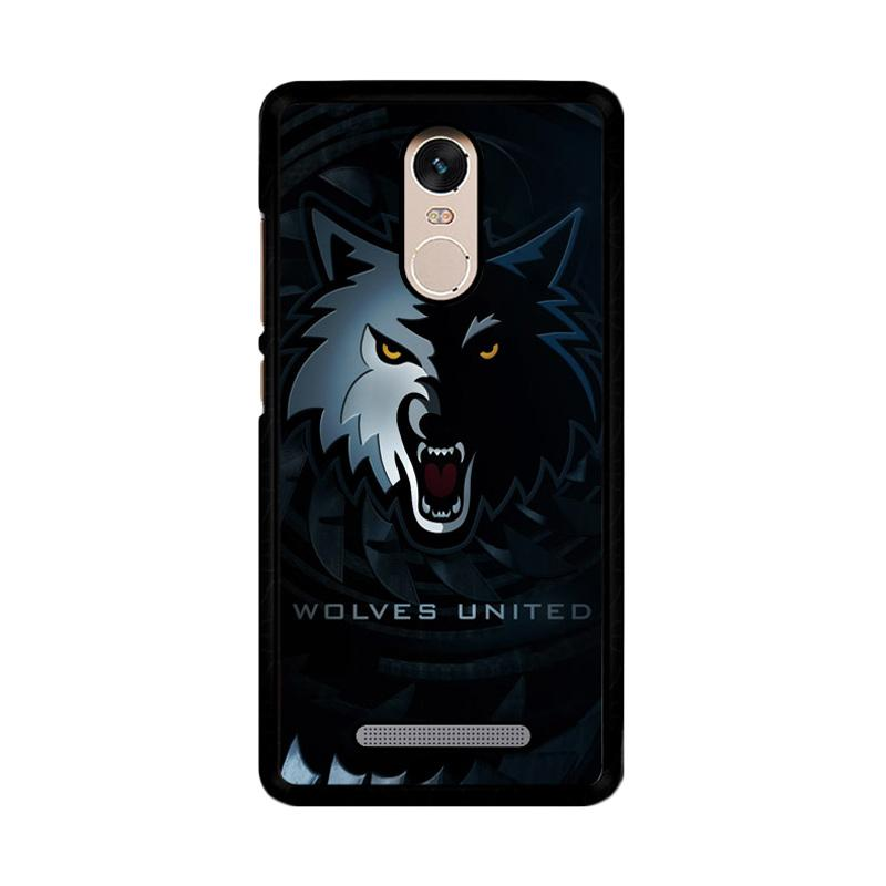 Flazzstore Wolves United Z4159 Custom Casing for Xiaomi Redmi Note 3 or Note 3 Pro