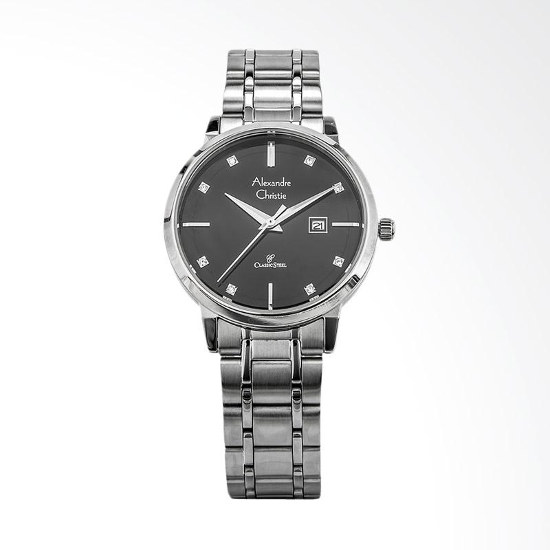 Alexandre Christie Classic AC 8528 LD BSSBA Jam Tangan Wanita - Silver