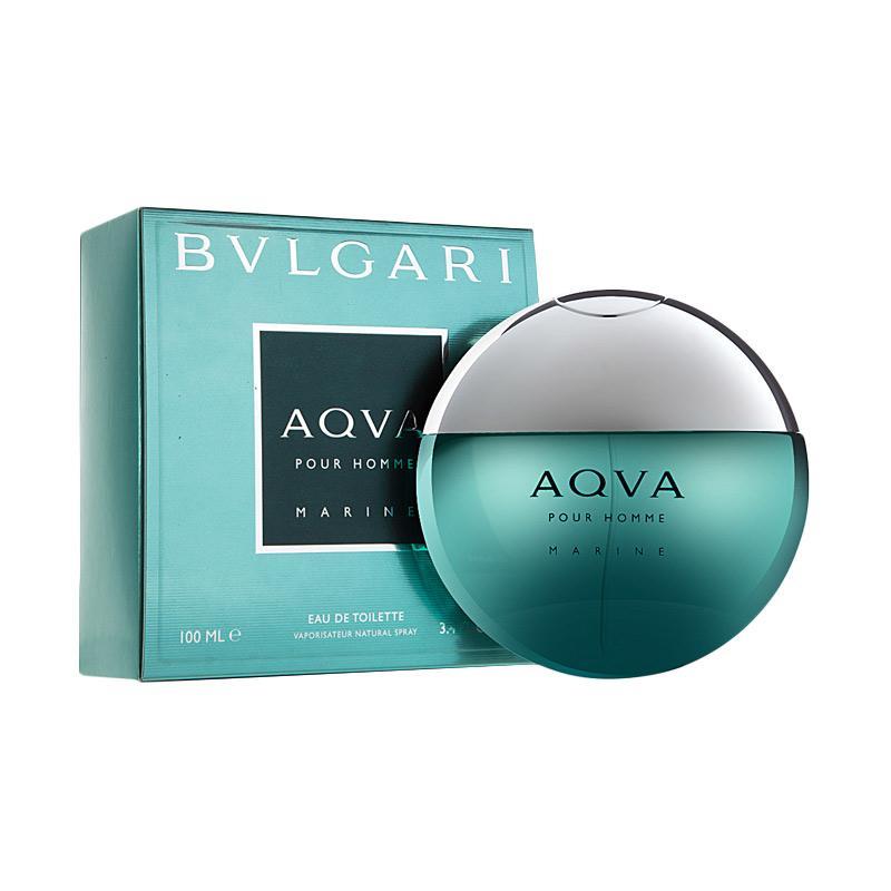 harga Bvlgari Aqua Marine Pour Homme for EDT Parfum Pria [100 mL] Blibli.com
