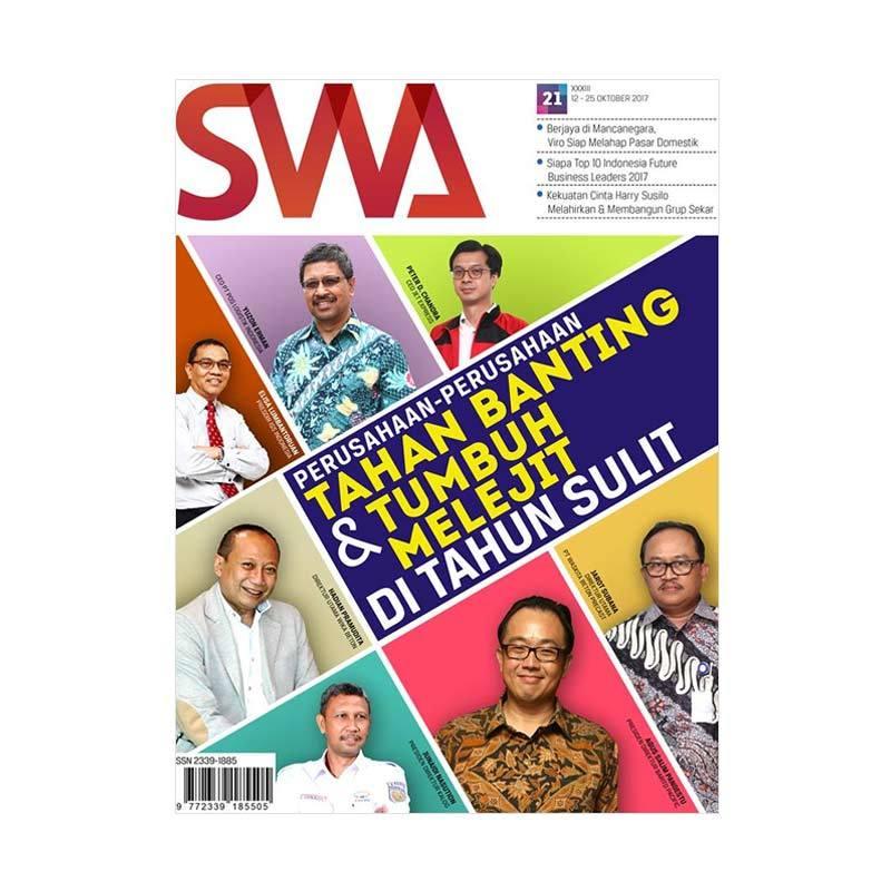SWA Edisi 21-2017 Perusahaan-Perusahaan Tumbuh Melejit dan Tahan Banting Majalah