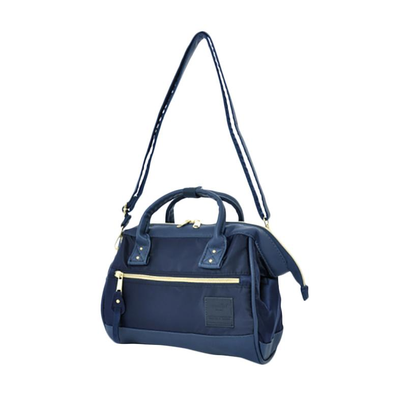 Jual Anello 2 Way Shoulder Bag Mini Size PU Leather X Nylon AT-H1241 ... 888dbcdae0