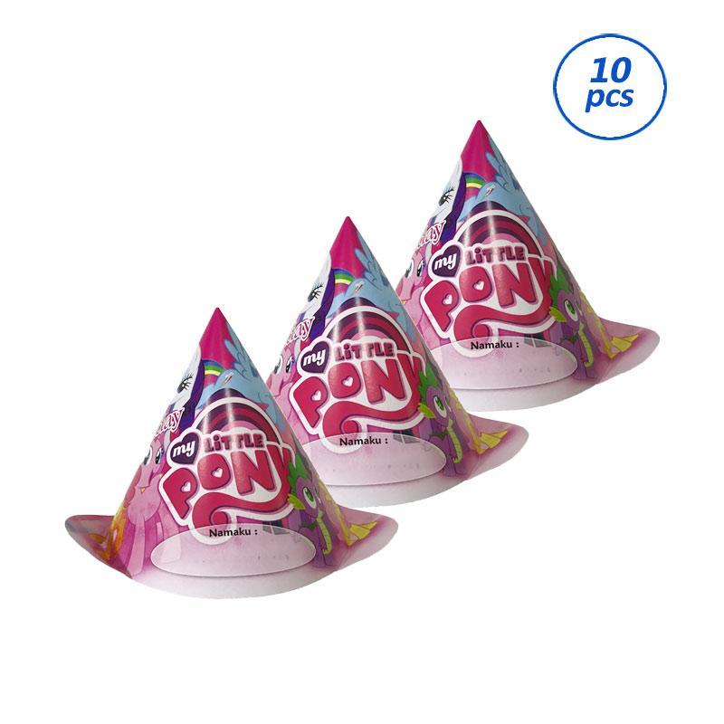 harga Johnboss Little Pony Topi Koboi Ulang Tahun [10 pcs] Blibli.com