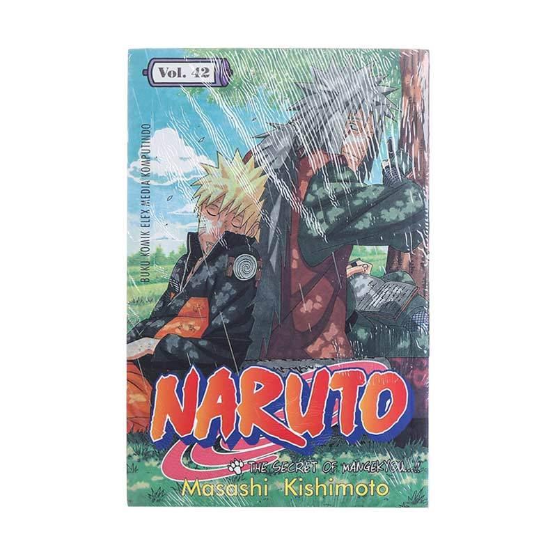 Elex Media Komputindo Naruto 42 200078042 by Masashi Kishimoto Buku Komik