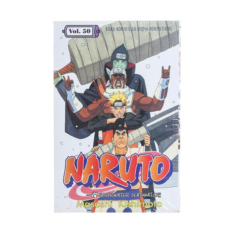 Elex Media Komputindo Naruto 50 200378571 by Masashi Kishimoto Buku Komik