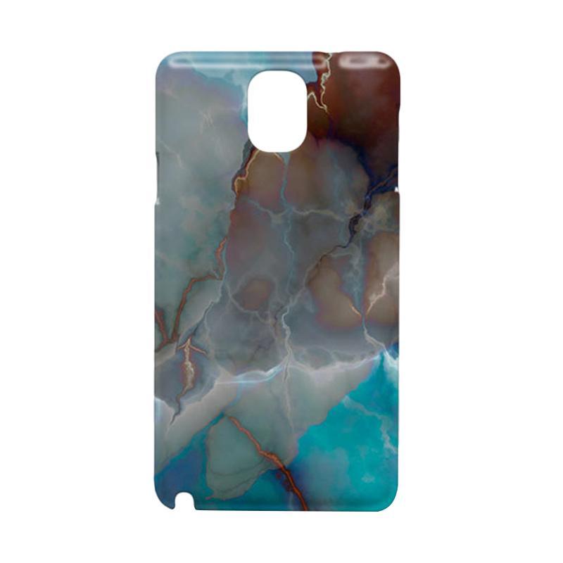 harga Premiumcaseid Ocean Blue Marble Granite Hardcase Casing for Samsung Galaxy Note 3 Blibli.com