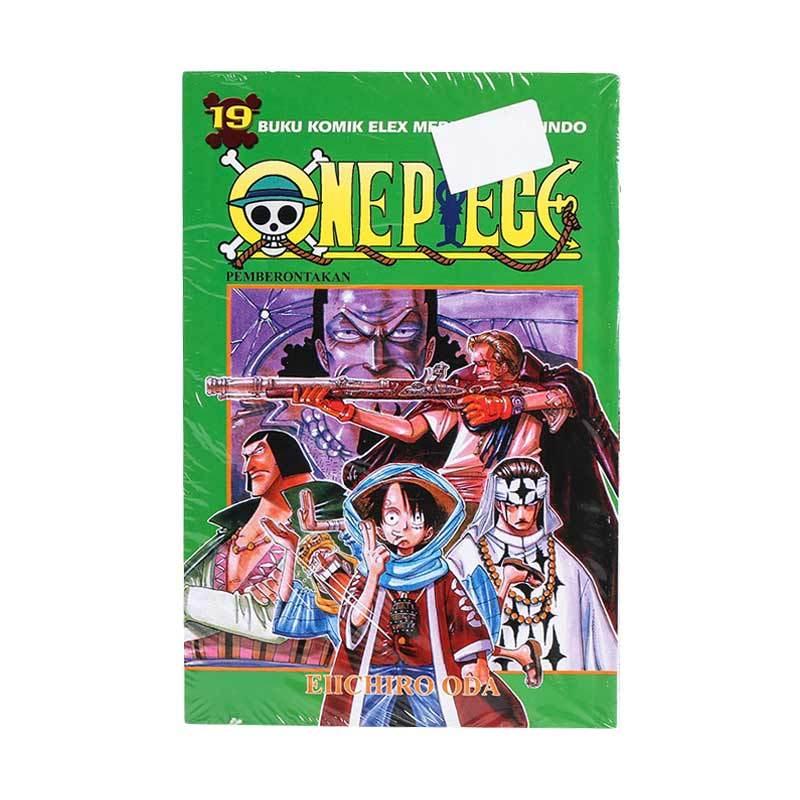 Elex Media Komputindo One Piece 19 200019933 by Eiichiro Oda Buku Komik