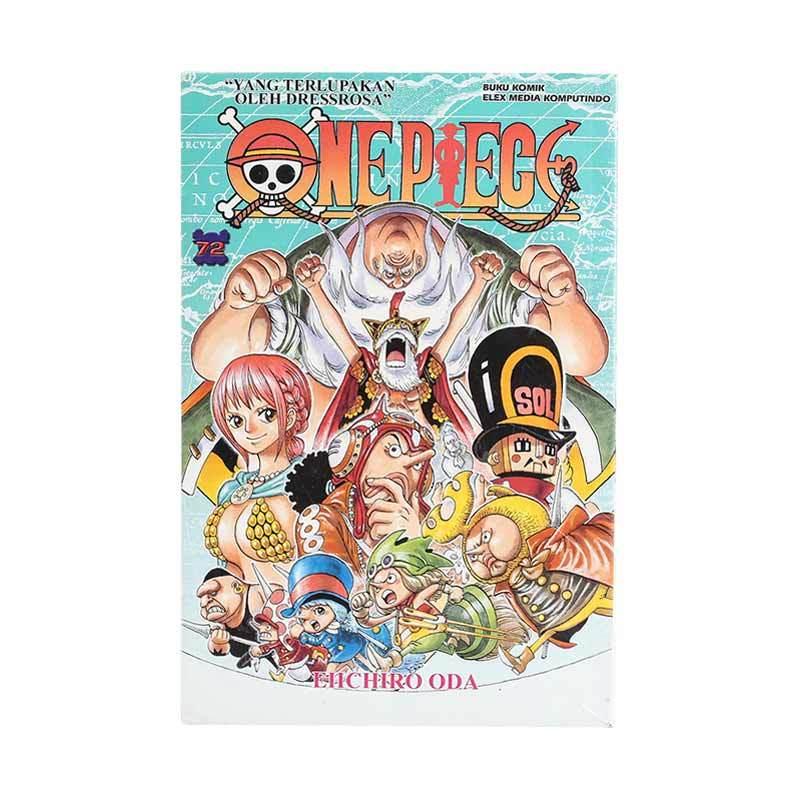 Elex Media Komputindo One Piece 72 203879833 by Eiichiro Oda Buku Komik