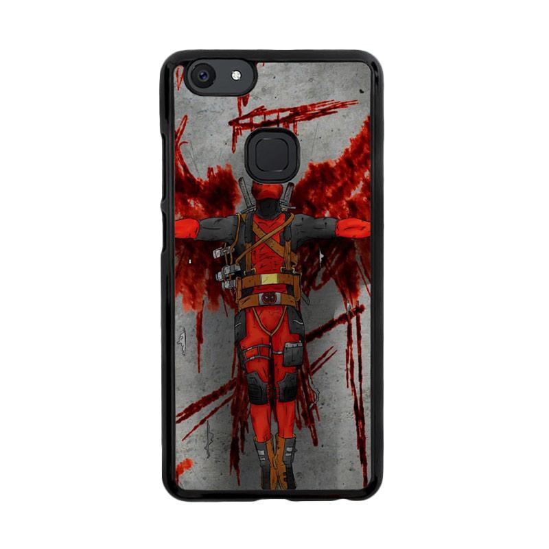 Flazzstore Deadpool Movie Cartoon Z5130 Custom Casing for Vivo V7