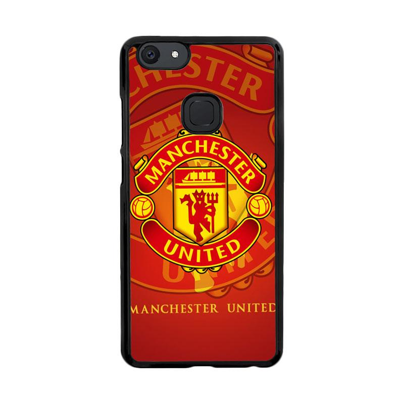 Flazzstore Manchester United Fc Logo X3243 Custom Casing for Vivo V7