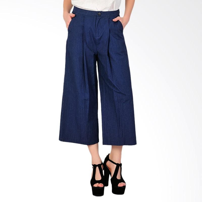 SJO & SIMPAPLY  Casting Women's Pants - Navy