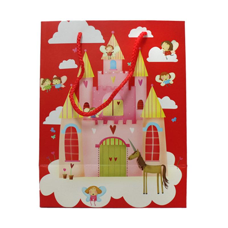 KUKUK PB-MCI12B Castle Goodie Bag - Merah