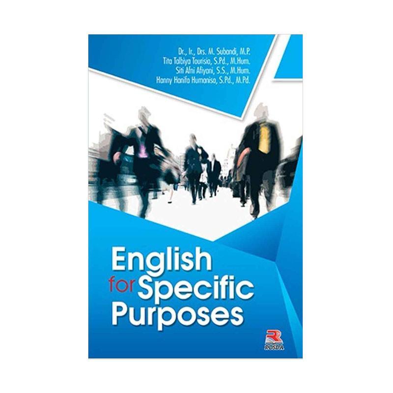 harga PT Remaja Rosdakarya English for Specific Purposes By Subandi, H.M., Dr., Ir., Drs., M.P., dkk. Buku Edukasi Blibli.com