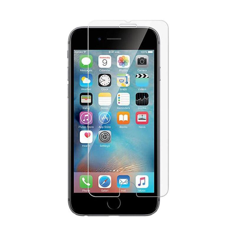 harga OEM Premium Tempered Glass Screen Protector for iPhone 7 - Clear [Screen Flat] Blibli.com