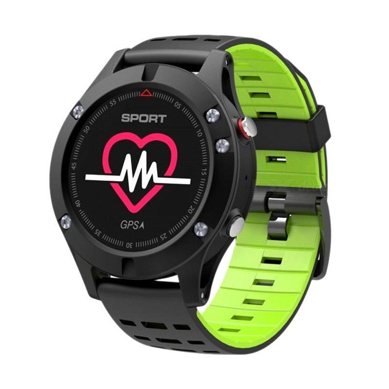 harga Cognos F5 DT NO.1 GPS Altimeter Barometer Thermometer Bluetooth 4.2 SmartWatch - Hijau Blibli.com