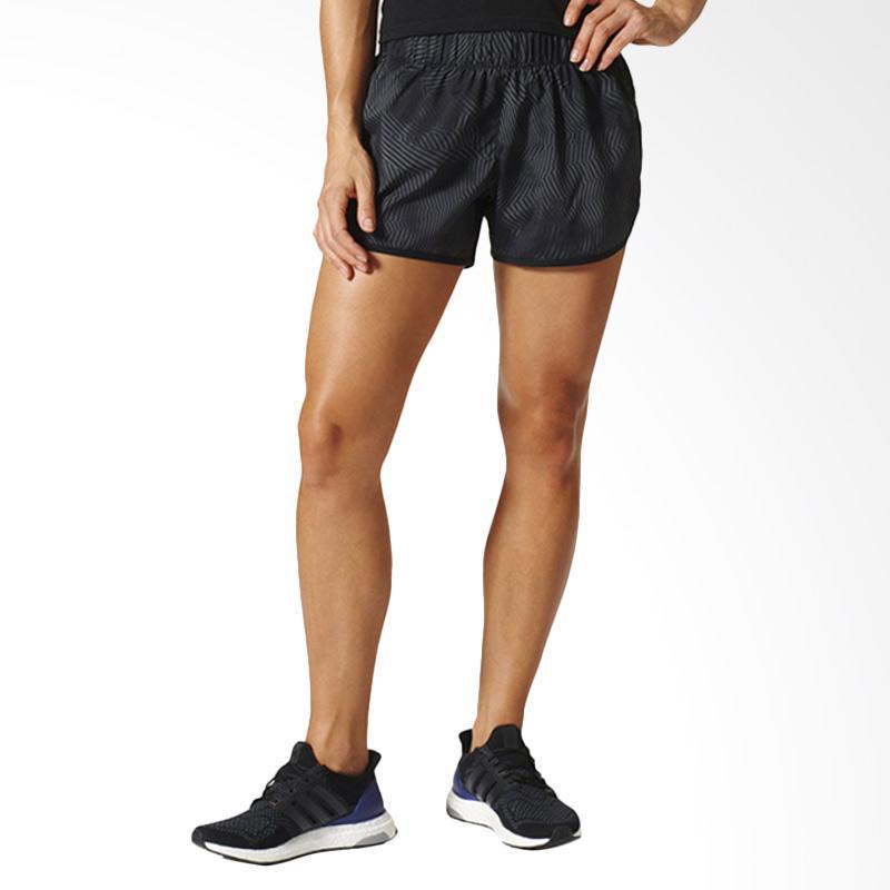 adidas M10 Q2 Women Short Celana Olahraga Wanita [AZ8460]