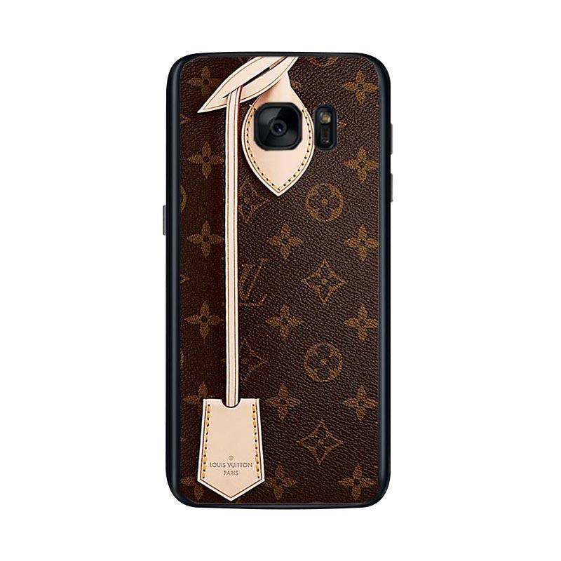 hot sale online 20c5f 6e014 Acc Hp Louis Vuitton Bag L1319 Custom Casing for Samsung S7 Edge
