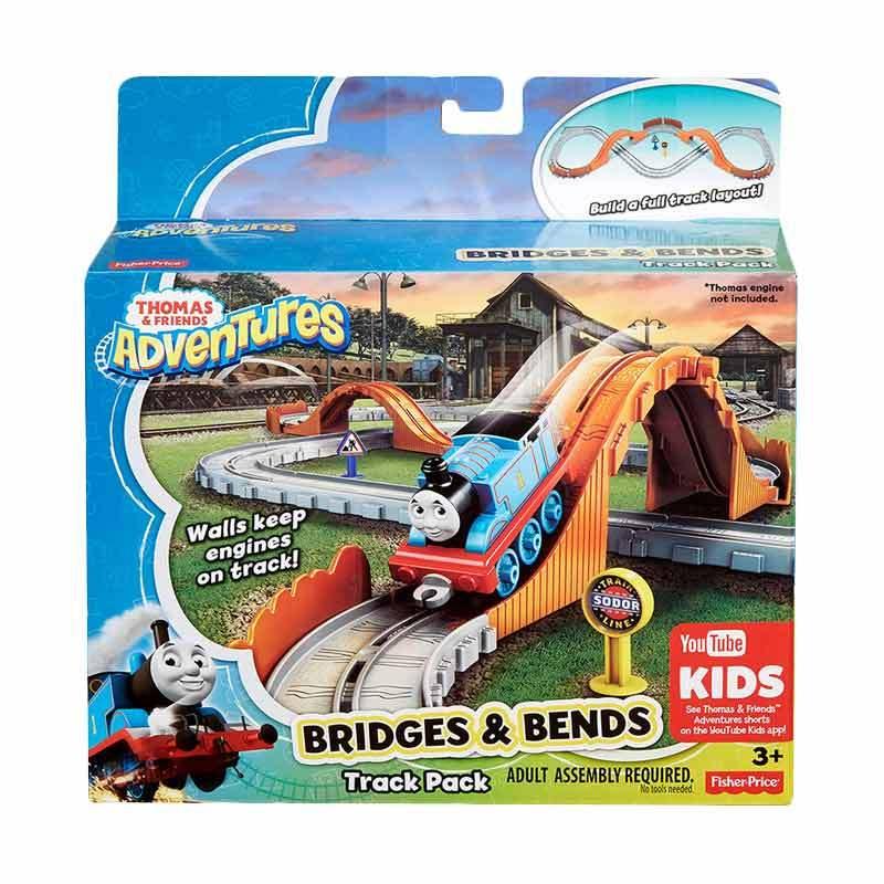 Thomas & Friends Adventures Bridges and Bends Track Mainan Anak