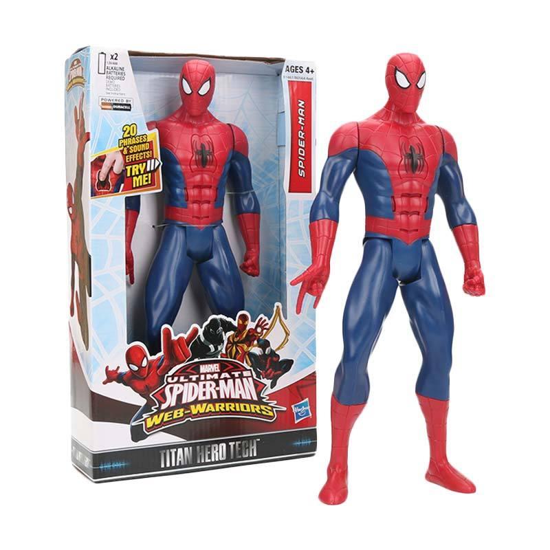 Hasbro Super Heroes Spiderman Ultimate Web Warriors Action Figures
