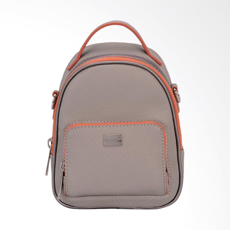 Jual David Jones CM3790 Mini Backpack Wanita - Grey Online - Harga & Kualitas Terjamin | Blibli.com