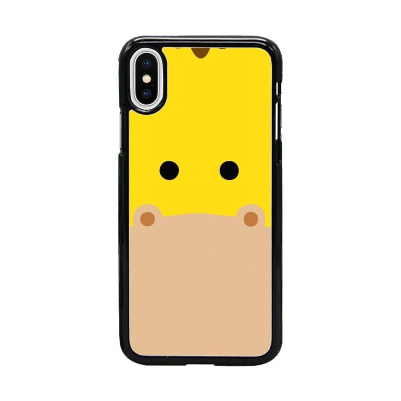 Acc Hp Giraffe Animal Face W5039 Custom Casing for iPhone X