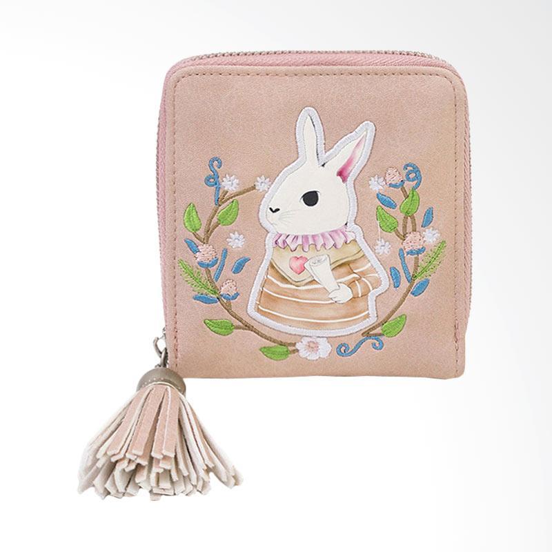 Kelebihan Kekurangan Lansdeal Small Mini Wallet Leather Dompet Wanita -  Pink Dan Harganya f3ccd8fcc6
