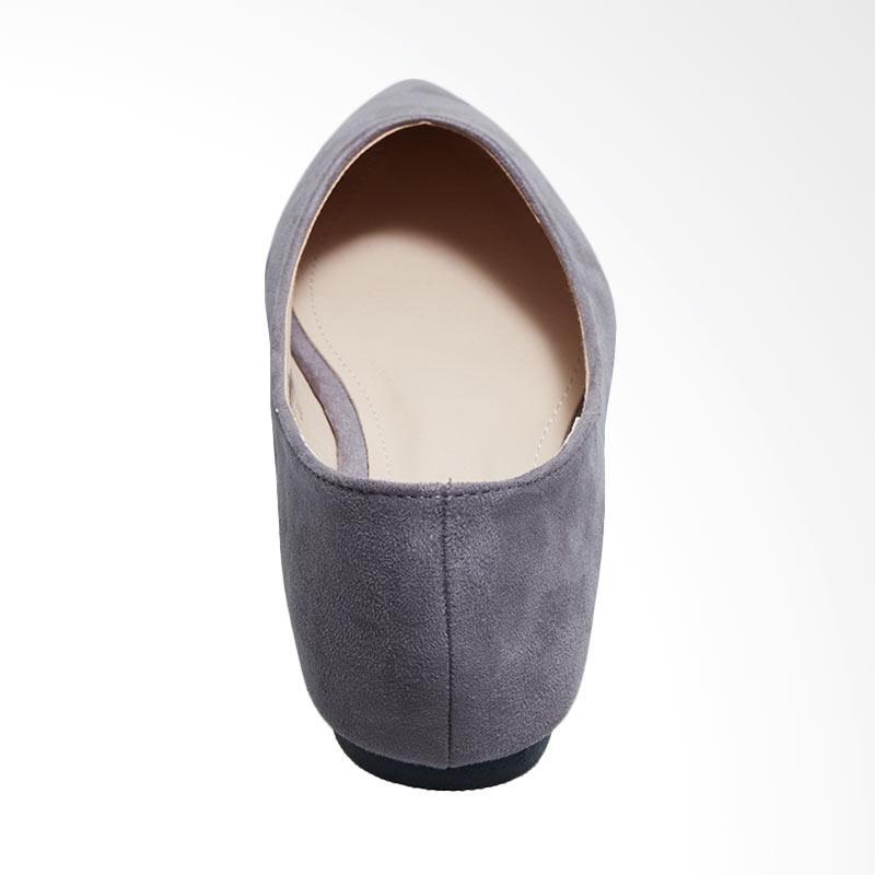 Jual Octav 1219 101 Maureen Bow Flats Sepatu Wanita Grey